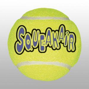 Kong Air Kong Balle de Tennis pour Chien 2 Pièces Taille L - Lot de 2
