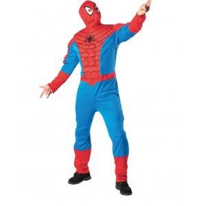Rubie's Déguisement Spiderman adulte avec torse et cagoule