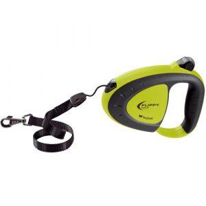 Ferplast Flippy Tech Cord S - Laisse enrouleur pour petits et moyens chiens