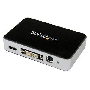 StarTech.com USB3HDCAP - Boîtier d'acquisition vidéo HD USB 3.0 (Enregistreur vidéo HDMI / DVI / VGA)