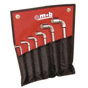 Mob 9015012001 - Trousse de 12 clés à pipe 6x6