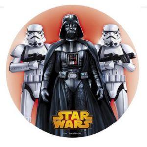 Dekora Disque Dark Vador Star Wars azyme 20 cm