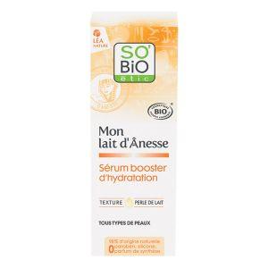 So'Bio Étic Sérum booster d'hydratation, au lait d'ânesse bio 30ml