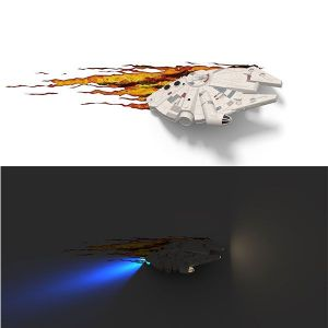 3D light FX Applique 3D Deco Light Millenium Falcon Star Wars