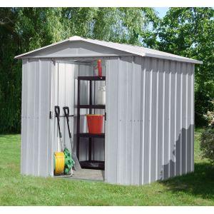 Yardmaster Eco 68ZGEY - Abri de jardin en métal 4,20 m2