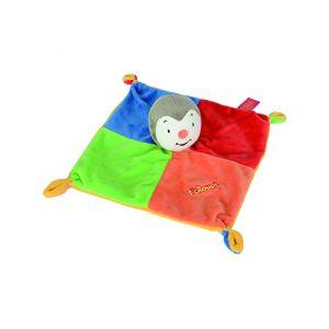 Simba Toys Doudou 4 couleurs T'choupi