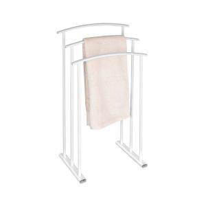 Allibert Porte-serviettes Ovalys 3 barres fixes en métal
