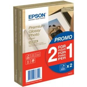 Epson 40 feuilles de papier photo Premium Glacé Or 255g/m² (10 x 15 cm)