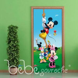 Poster porte La Maison de Mickey et ses Amis Disney
