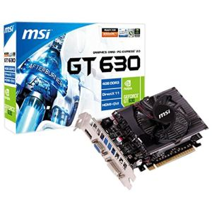 MSI N630GT-MD4GD3 - Carte graphique GeForce GT 630 4 Go DDR3 PCI-E 2.0