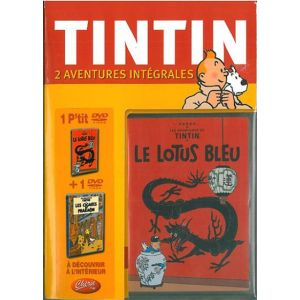 Coffret Tintin - Le Lotus Bleu + Les Cigares du Pharaon