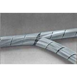 KSS WIRING SWBKS-12 - Cache câble transparent en spirale (spirobande) 10m