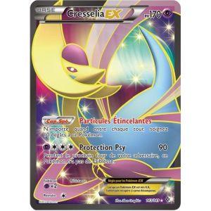 Asmodée Cresselia Ex - Carte Pokemon 143/149 Ultra rare Full Art