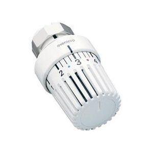 Oventrop 1011475 - Tête thermostatiq Uni LD blanc avec bulbe liquide + fixation à griffes