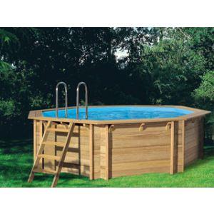 Procopi pistoche piscine bois 200 x 200 x 63 cm for Piscine pistoche