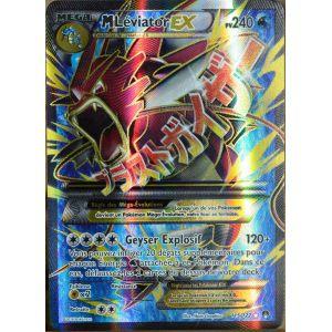 Asmodée Méga Léviator Ex - Carte Pokémon Ultra Rare Full Art XY Rupture Turbo
