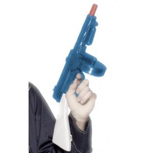Pistolet mitrailleur de gangster adulte