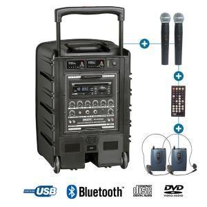 Power Acoustics BE 9208 PT ABS - Enceinte de sono portable
