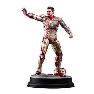 Dragon models DM38118 - Figurine Iron Man 3 Mark Xlii Battle Damaged Action Vignette