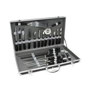 Pradel Mallette de couteaux pour cuisiniers 22 pièces en inox