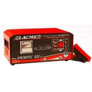 Lacme VACMATIC 100-3 - Chargeur automatique 6A pour batteries 12V