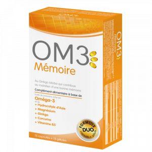 isodisnatura OM3 Mémoire - 15 capsules + 15 gélules