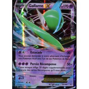 Asmodée Gallame-Ex - Carte Pokémon 34/108 Ultra Rare Xy 6 Ciel Rugissant
