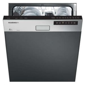 Rosières RLI1D53X - Lave-vaisselle encastrable 15 couverts