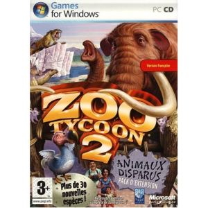 Zoo Tycoon 2 : Animaux disparus - Extension du jeu sur PC