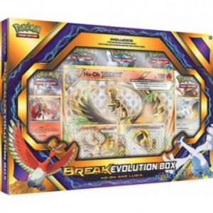 Asmodée Coffret Pokémon Break Evolution Box Ho-Oh et Lugia