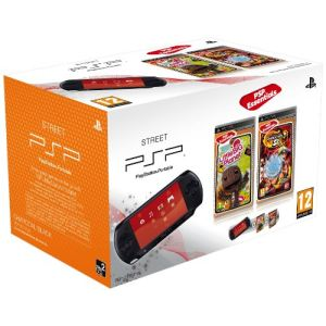 Sony PSP Street (E-1004) - Pack console + Little Big Planet + Naruto Shippuden : Ultimate Ninja Heroes 3