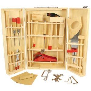 Bigjigs Boite à outils Junior en bois et métal