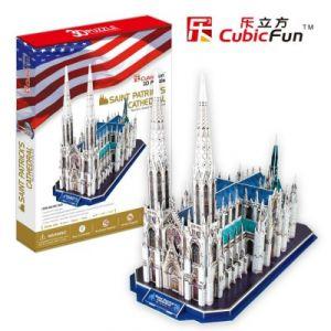CubicFun Cathédrale Saint Patrick - Puzzle 3D 117 pièces