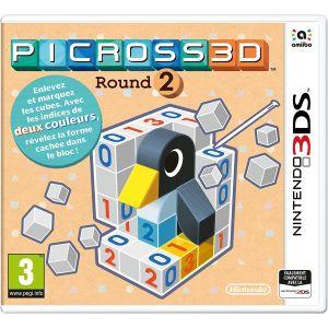 Picross 3D Round 2 sur 3DS