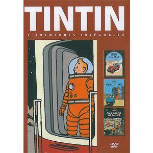 Coffret Tintin - Volume 5 : Objectif Lune + On a marché sur la Lune + Tintin au Pays de l'or noir