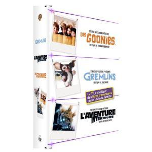Coffret Les Goonies + Gremlins + L'aventure intérieure
