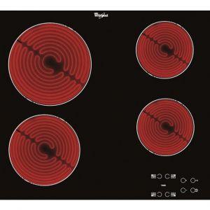 Whirlpool AKT 8090/NE - Table de cuisson vitrocéramique 4 foyers
