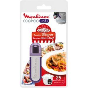 Moulinex XA600411 - Clé USB 25 recettes Bistrot  pour Cookéo