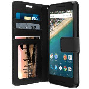 Avizar FOLIO-LENNY-BK-5X - Étui à clapet pour Nexus 5X