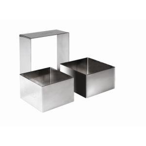 Ibili Emporte-pièces carrée en inox (4 x 4 x 4,5 cm)