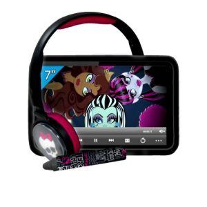 "Ingo Monster High Tablet Super Pack 7 - Tablette tactile 4 Go 7"" sur Android avec accessoires"
