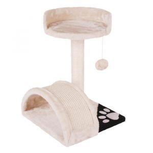 Arbre a chat en sisal, polyester et carton 41 x 39 x 41 cm