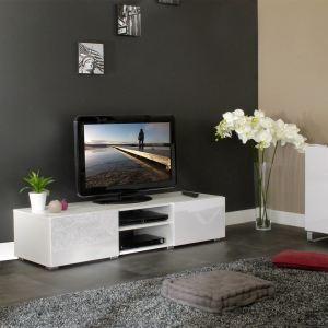 Meuble TV 2 niches 2 et 2 tiroirs (140 cm)