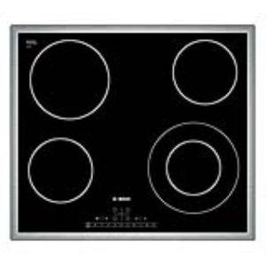 Bosch pkf645f17e table de cuisson vitroc ramique 4 - Table de cuisson vitroceramique 2 foyers ...