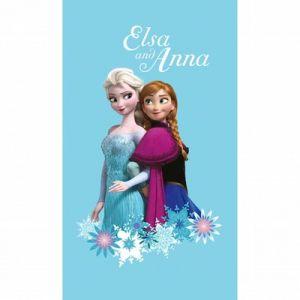 Drap de bain Elsa et Anna La Reine des Neiges (70 x 120 cm)