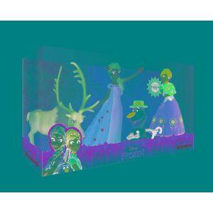 Bullyland Coffret de figurines La Reine des Neiges : Une fête givrée