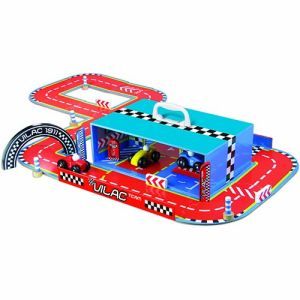 Vilac 2334 - Circuit The Box - course de voitures