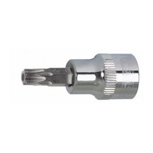 KS Tools 918.1476-e - Douille tournevis 1/4'' Torx percé T40 L.37 mm sur support
