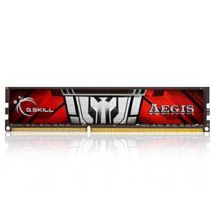 G.Skill F3-1600C11S-4GIS - Barrette mémoire Aegis 4 Go DDR3 1600 MHz CL11