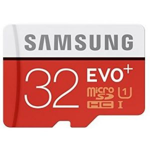 Samsung MB-MC32DA - Carte mémoire Evo+ microSDHC 32 Go Class 10 avec adaptateur